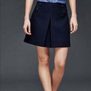 GAP navy sailor skirt